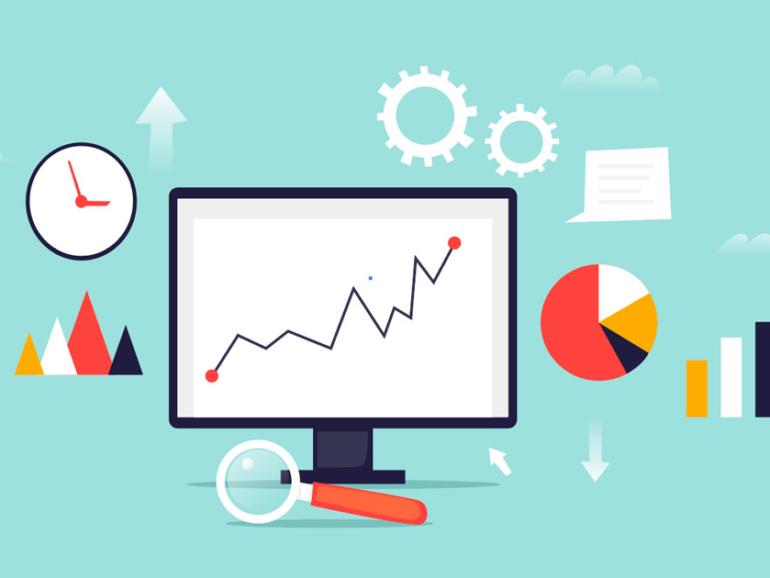 Illustration of data driven marketing