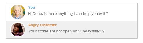 angry !!?? customer